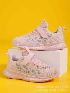 Wholesale net top shoes resale online - Athletic Outdoor Children s Summer Single Net Flying Woven Running Low Top Leisure Sports Shoes for Boys and Girls