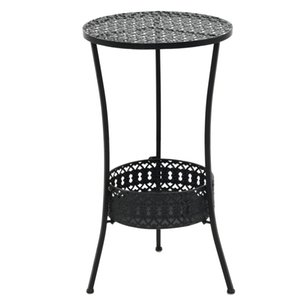 Wholesale bistro tables resale online - Bistro Table Black x70 cm Metal