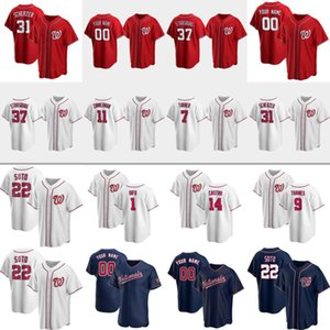 Wholesale hand clay for sale - Group buy 22 JUAN SOTO Trea Turner MAX SCHERZER Baseball Jerseys Stephen Strasburg Brad Hand Kyle Schwarbe Luis Garcia Sam Clay