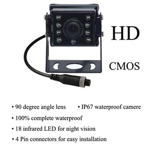 Wholesale monitoring definition for sale - Group buy Cameras Infrared Night Vision AHD Monitor Vehicle Camera Blind Zone High Definition Side View Reversing