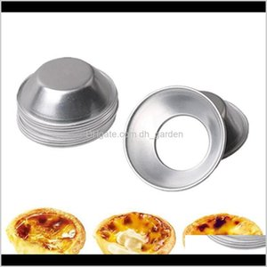 Wholesale pan pudding for sale - Group buy Egg Tart Moulds Homemade Pie Quiche Baking Pan Pudding Mould Aluminum Alloy Reusable Diy Mold Tools Iia556 Nlqnk Vrvns