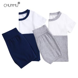 Wholesale clothes for kids for sale - Group buy Children s Home Wear Baby Suit Kids Clothes Boys Girls Summer Pajamas Cotton Tops Pants Set For Air Conditioner Clothing Sets