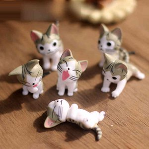 Wholesale anime pvc figure cat for sale - Group buy Cheese Cat Miniature Nice Model Toys cm Pvc Japanese Anime Children Figure World Fairy Pictures