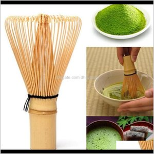 Wholesale bamboo for gardens for sale - Group buy Drinkware Kitchen Dining Bar Home Garden Drop Delivery Factory8Pmu Green Japanese Ceremony Bamboo Whisk Chasen For Preparing Matcha P