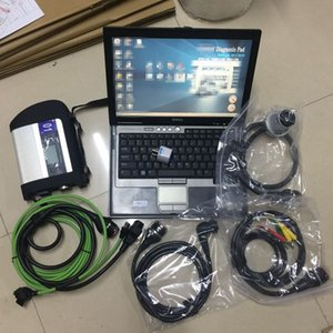 das mb star c4 sd connect оптовых-SD Connect Tool C4 MB STAR Diagnostic Software Xentry DAS HDD GB ноутбук D630 Toolbook