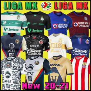 Wholesale chivas guadalajara for sale - Group buy 20 Club America Cruz Azul Soccer Jersey Guadalajara Chivas th Tijuana UNAM Tigres home away third Liga MX Football Shirts Santos Laguna mexico