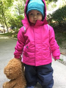 Wholesale snow suits for sale - Group buy Export Europe Girl Warm Ski Suit Snow Jacket And Pants Waterproof Overalls Baby Padded Autumn Winter Windproof EU Jackets