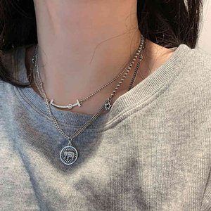 Wholesale sterling silver elephant jewelry for sale - Group buy yutong ANENJERY Sterling Silver Elephant Smiling Necklace For Women Handmade Thai Silver Party Jewelry S N515