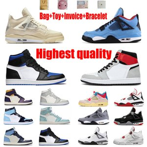 Wholesale box smash resale online - Mocha Barb Buckle Smashed Basketball Shoes s4sJumpman Travis Scotts Men s and Women s Top Quality League Black Obsidian UNC Fearless Transport Box Half Size