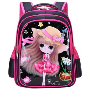 Wholesale schoolbag orthopedic resale online - Kids Cartoon Backpacks Children School Bags For Girls Orthopedic Backpack Schoolbag Primary Mochila
