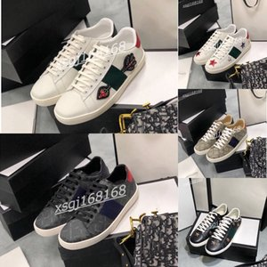 ingrosso scarpa gucci -Gucci shoes Top Quality Mens Pelle Casual Shoe Platforms Platforms Stampa Pattern Coppia Scarpe Classic Fashion Personality Sneakers selvaggi