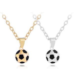 Wholesale world gold 18k for sale - Group buy Fashion World Cup Football Necklaces Pendants For Women Men Unisex South American Alloy k Gold Silver Plated Link Chain Necklace Friend Gift
