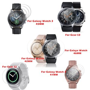 Wholesale watch protector for sale - Group buy For Galaxy Watch mm mm Watch mm Tempered Glass to Samsung Gear S3 S2 Screen Protector Protective Films