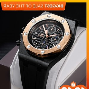 Wholesale cool black watches for men resale online - 2021 Onola Brand Fashion Sports Men s Military Clock Black Gold Waterproof Unique Cool Metal Watches For Men