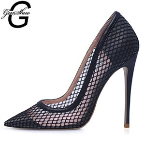 Wholesale women dress shoes size 12 resale online - Sexy Shoes Woman Party Pointed Toe Black Heels Ladies High Pumps CM CM Dress Size Women s
