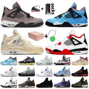 boîtes rouges achat en gros de-news_sitemap_homeNike Air Jordan retro Travis scott s OFF White SAIL Top qualité Hommes Femmes Chaussures de basket Court Purple Bred FIBA Neon Black Cat formateurs baskets