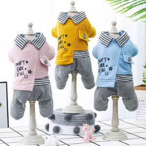 Wholesale launch pads resale online - Clothing Pet to Be Launched in Fall Winter Dog Cat Four Legged Cotton Padded Garment with Plush and Thickened Warm Three Color