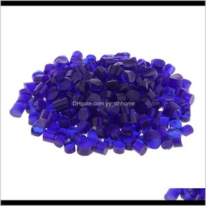 Wholesale art glass mosaic tile resale online - 100G Millefiori Irregular Fusing Loose Beads Mosaic Tile Supply Art Glass Accessory Tec4Z Yu0H