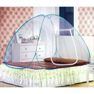 Wholesale king garden resale online - Bedding Supplies Textiles Home Garden Drop Delivery Est Portable Up Camping Tent Bed Canopy Mosquito Net Twin Full Queen King Size14