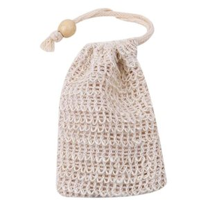 Wholesale designer body bag resale online - Natural Exfoliating Mesh Soap Saver Sisal Soap Saver Bag Pouch Holder For Shower Bath Foaming And Drying Bbylem Vggg2 S2