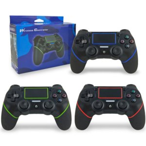 consolas ps4 al por mayor-Bluetooth Wireless Gamepad para Sony PS4 Controller Fit for PlayStation4 Console para PlayStation Dual Shock Joystick Controller