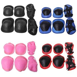 Wholesale knee scooters for sale - Group buy 1 Set Kids Knee Pads Cycling Skating Protection Elbow Guard Scooter Children Protector