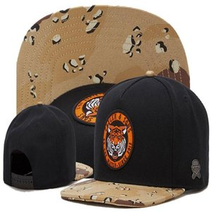 Wholesale snapback caps fox resale online - Newest Adjustable Cayler Sons tiger fox Baseball Caps Mens Snapback Hats For Women Men Cotton Gorras Sport