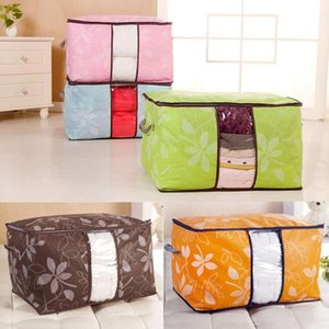 Wholesale bedding sets boxing for sale - Group buy Wardrobe Storage Under Bed Bag Container Clothes Organizer Foldable Piece Set Bags Boxes Bins