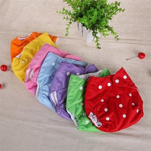 Wholesale new washable baby diapers for sale - Group buy 2020 New set Washable Eco Friendly Cloth Diaper Adjustable Nappy Reusable Cloth Diapers Fit years kg baby Y2
