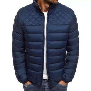 Wholesale launch pads resale online - 2020 new product launch versatile fashion down men s simple atmosphere cotton padded jacket straight