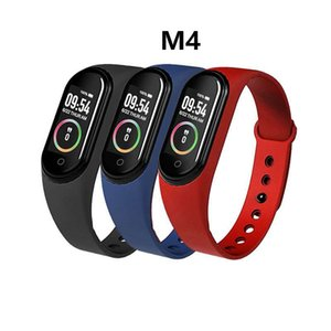Wholesale ups trackers for sale - Group buy UPS M4 Smart Wristband Band Watch Fitness Tracker Sport Bracelet Heart Rate inch Smartband Monitor Health