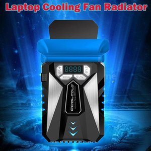 Wholesale usb vacuum fan resale online - Laptop Cooler USB Cooling Fan Vacuum Fast Dropdown CPU Temperature Air Extracting Notebook With LED Pads