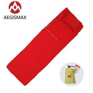 Wholesale single sheets resale online - Outdoor Sleeping Bag Foldable Portable Camping Travel El Private Sheet For Single Person With Storage x72cm Bags
