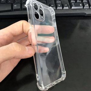 Wholesale mobile south korea for sale - Group buy It Is Suitable for Apple Mobile Phone with Thickened Big Four Corners Japan South Korea Air Bag Anti Falling Tpu Soft Shell and Super