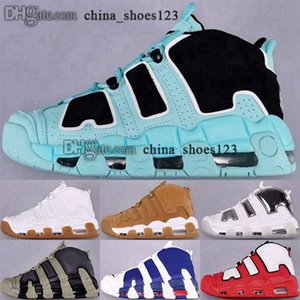 ingrosso aria più uptempo-Più Uptempos Scarpe Size Us Men Trainers Baskers Chaussures Donne Zapatillas Scottie Pippen Air EUR Sneakers Scarpe Girls
