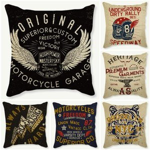 Wholesale euro pillows for sale - Group buy Euro Personality Letter Punk Style Cushion Cover Colorful Print Pillows Case Back Decorative Waist Fundas Cojin Cushion Decorative Pillow