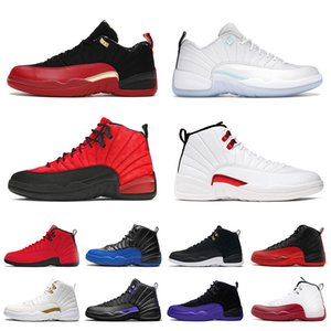Wholesale red bowls resale online - With Box Mens Jumpman s Basketball Shoes Low Easter Bowl Twist Flu Game XII Dark Concord University Gold Stone Blue Bulls Men Trainers Sports Sneakers