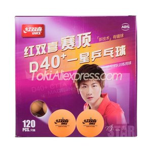 Wholesale table tennis balls dhs resale online - Balls DHS Table Tennis Ball D40 STAR Orange Plastic ABS Original Yellow Pong
