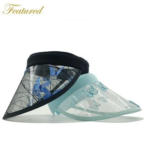 Wholesale top hat shop for sale - Group buy Summer Exquisite Lace Empty Top Hat Embroidery Butterfly Ladies Sun Shopping High quality Golf Wide Brim Hats