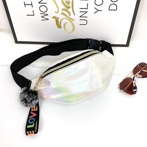 Wholesale sports cooler bags resale online - HBP Non Brand Colorful Korean Shoulder Sport Waist B72A Women s Single Sequin Fashion Bag Chest Cool Askpu