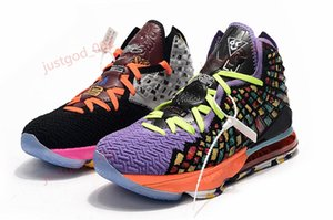 Wholesale lebron sneakers for sale - Group buy cheap mens new lebron basketball shoes for sale Purple Yellow Glow in dark MVP womens youth kids lebrons sneakers tennis