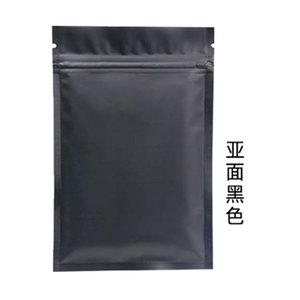 Wholesale designer bags locks resale online - Custom Accept Colorful Heat Sealable Ziplock Packaging Bag Pouch Reclosable Flat Aluminum Foil Zip lock Plastic Bags R2