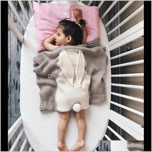 Wholesale nursery quilt for sale - Group buy Blankets Swaddling Nursery Bedding Baby Kids Maternity Drop Delivery Sleeping Knitting Toddler Quilt For Knitted Blanket Baby Born D