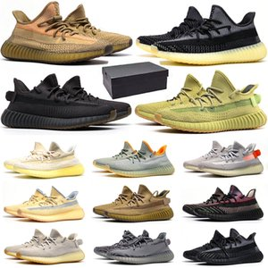 top quality running shoes men women Static Reflective Cinder Asriel Israfil Ash Blue Pearl Desert Sage Yecheil mens trainers sneakers sports size 36-48
