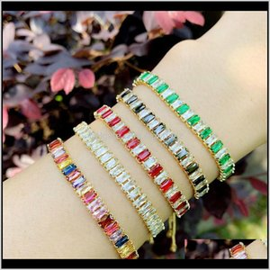 Wholesale gold pulls resale online - Charm K Gold Iced Out Diamond Bracelet Colorful Pull String Adjustable Cubic Zircon Bracelets Women Fashion Jewelry Will And Sandy G Vs5A3