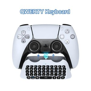 Wholesale bluetooth mini pad resale online - Mini Bluetooth Wireless Adapter External Keyboard Chat Voice Text Pad For Gamepad Console Controller Game Controllers Joystic Joysticks