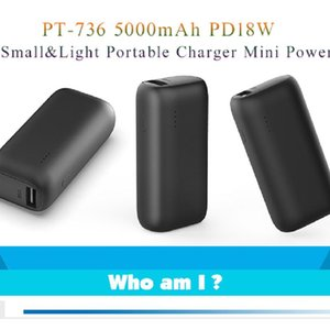 Wholesale smallest portable charger resale online - Fast Charger The smallest power bank energy battery mah High Capacity Portable Source Charging