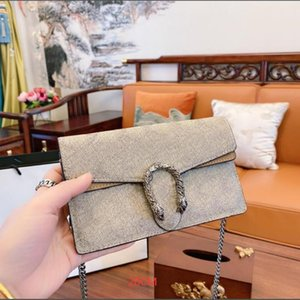 Wholesale cat head bag handbag for sale - Group buy Bags Mini Quality Closure Fashion Ladies Dionysuss New Chain Canvas Handbag Tiger Head Flap High Leather Shoulder Crossbody Genuin Sgki