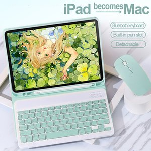 Wholesale mouse for ipad for sale - Group buy Bluetooth Keyboard Mouse Case For iPad th th th th Air Pro Smart Cover