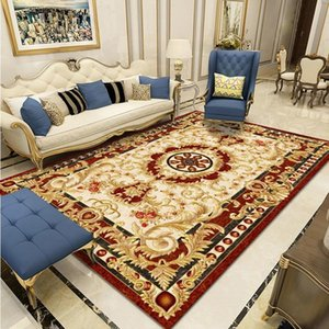 Wholesale entry tables for sale - Group buy European Classical Bedroom Living Room Coffee Table Cushion Bed Front Sofa Carpet Entry Door Floor Mat Rectangular Blanket Carpets